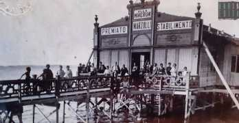 La storia dello stabilimento Marzulli Alla Minerva: la piu elegante baracca balneare di Bari