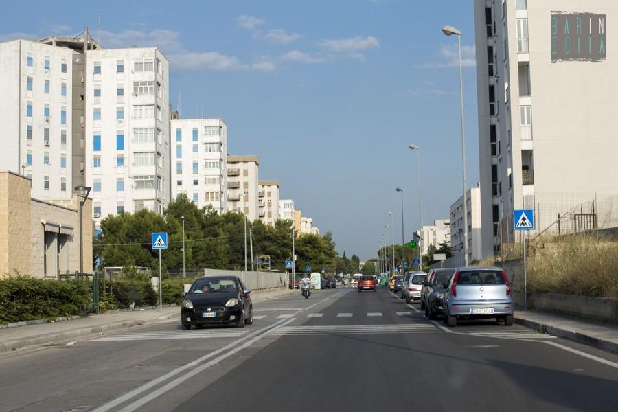 Bari la parte nuova del quartiere japigia barinedita for Nuova apertura grande arredo bari