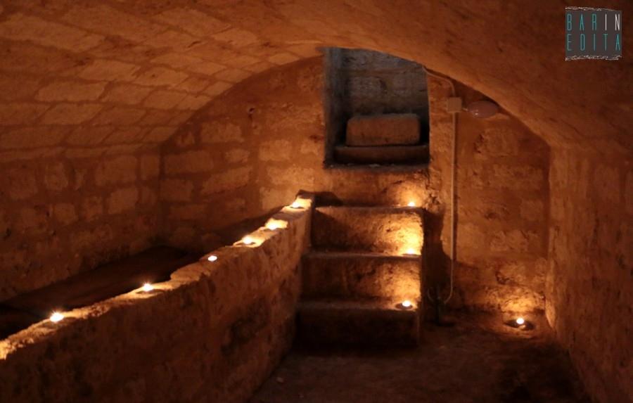 Valenzano una stanza segreta nei sotterranei della chiesa è il
