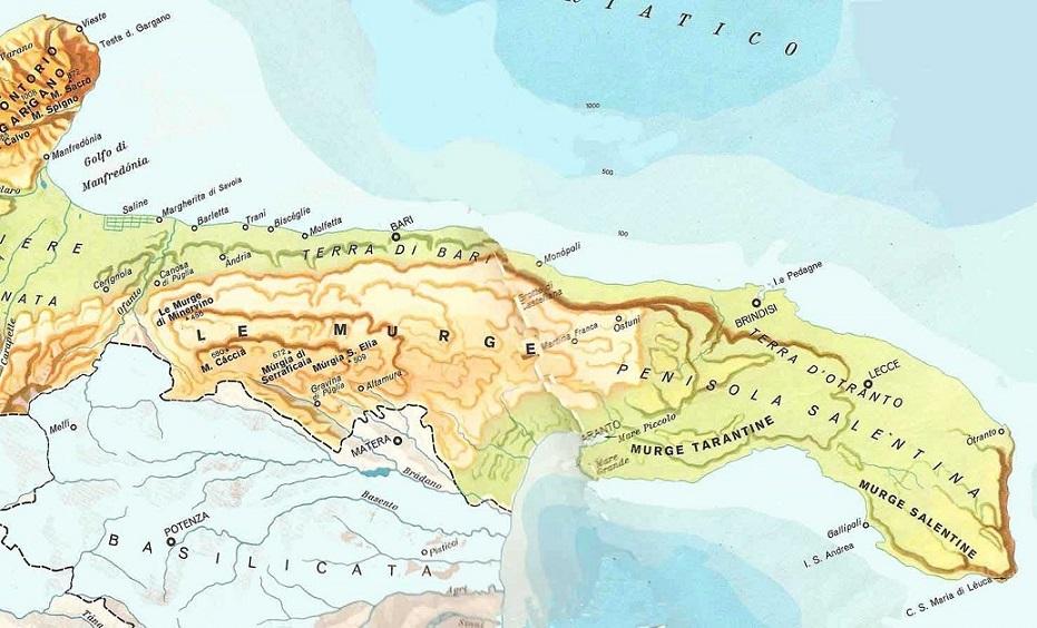Cartina Puglia Zona Lecce.I Discussi Confini Del Salento Ne Fanno Parte Anche Brindisi E Taranto Barinedita Testata Giornalistica Online