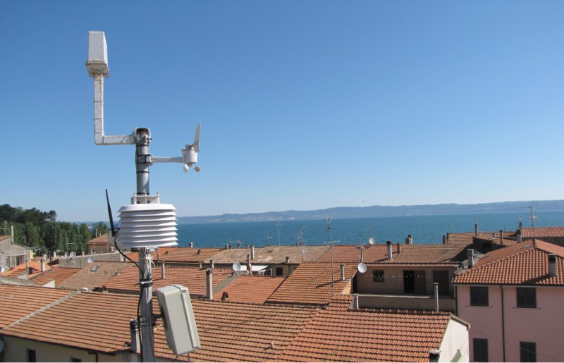 Studiare il tempo dal tetto di casa la moda delle stazioni meteorologiche 39 39 fai da te - Alzare il tetto di casa ...