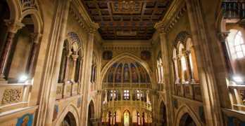 Bari in via Abbrescia c'e un gioiello nascosto: la pittoresca Chiesa dell'Immacolata